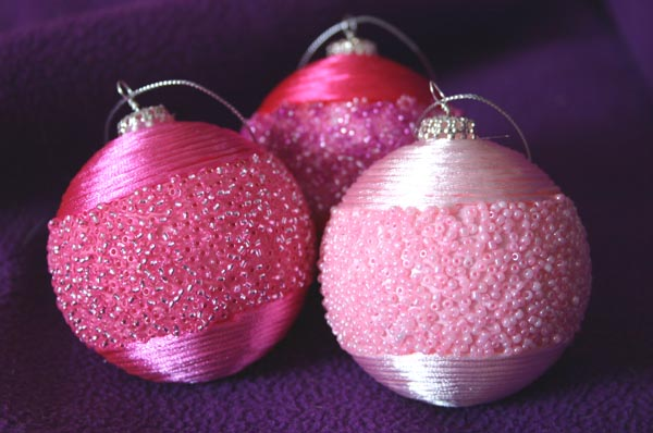 foam christmas ornament