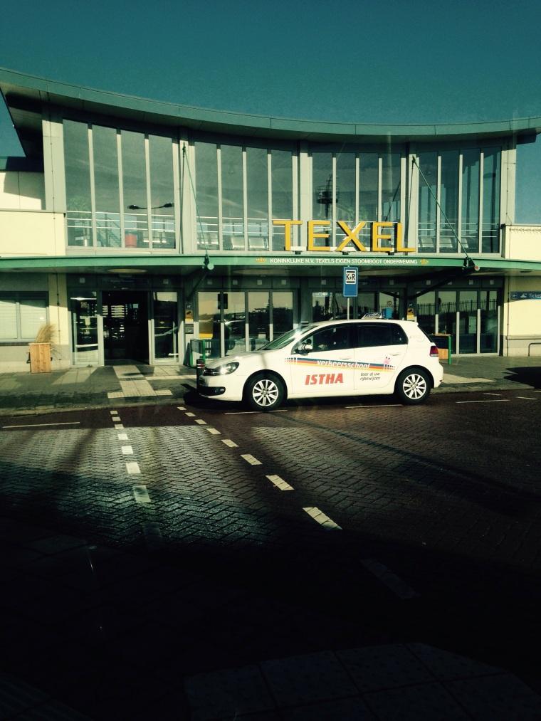 Texel ferryport