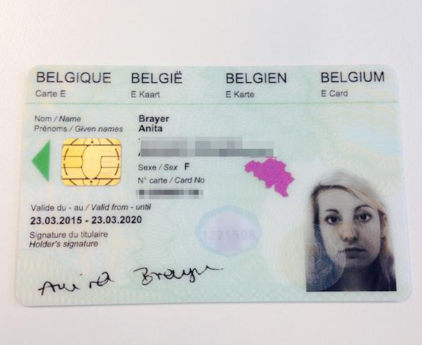 belgian ID